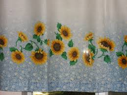 Sunflower Kitchen Sunflower Kitchen Curtains Miserv