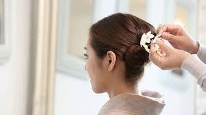 結婚式パーティーに簡単ヘアアレンジ Youtube 結婚式 髪型 ボブ 50代