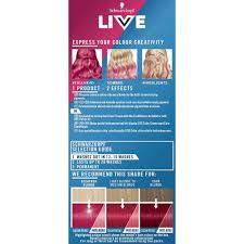 Schwarzkopf Live Ultra Brights Or Pastel Raspberry Rebel 091 Semi Permanent Hair Dye