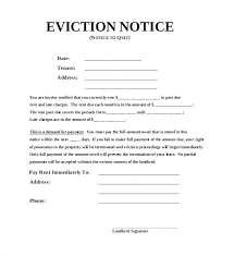Eviction Notices Template Awesome Eviction Notice Template Free Word Document Throughout Tenant Sample