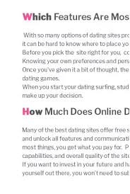 online dating programme