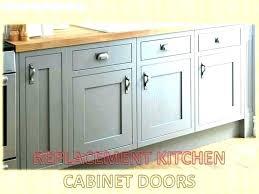 replacement kitchen cabinet door white doors replace