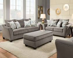 light gray living room furniture. Light Gray Couch Set Swooping Armrests Bella Sofa And Loveseat Living Room Furniture
