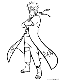 You must know well about naruto, right? Naruto Uzumaki Coloring Pages Printable