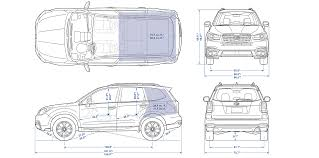 2017 subaru forester specs pare forester specifications