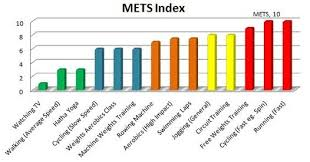 Met Equivalent Chart The Importance Of Exercise Intensity Alive By Nature All