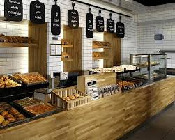 Pretty Bakery Interior Design Ideas With Small Minimalist Design