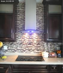 glass range hoods. The Best Range Hoods In Canada And USA Kitchen Exhaust Hood-SV218D-36\ Glass Victory