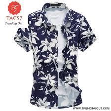 <b>Summer</b> New Arrival Fashion Floral Print <b>Men's Hawaiian Shirt</b>