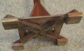 Arts And Crafts Coat Rack Vintage Craftsman ChildSize CoatHat Rack 78