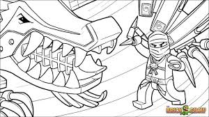 Small Picture Lego Ninjago Coloring Pages Print Ninjago Coloring Pages