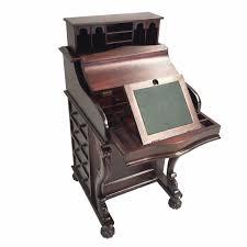 antique mahogany large home office unit. Antique Style Mahogany Wood Reproduction Davenport Desk OD-111 Large Home Office Unit O