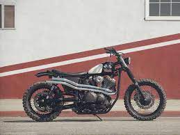 what is a brat style motorcycle