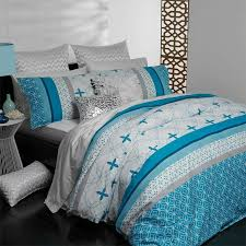 kira teal quilt cover set by logan mason casual living collection