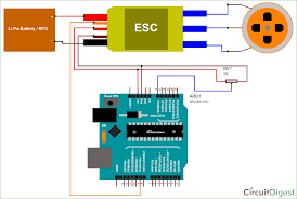 arduino bldc motor control circuit diagram