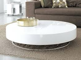 coffee table astounding low round modern with big white oversized tables storage glamorous