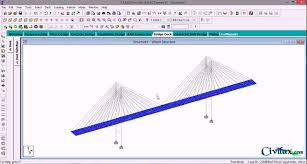 Bridge Design In Staad Pro Cable Stayed Bridge Analysis Using Staad Pro