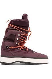 ADIDAS BY STELLA MCCARTNEY Nangator Rubber And Quilted Shell Boots ... & ADIDAS BY STELLA MCCARTNEY Nangator Rubber And Quilted Shell Boots.  #adidasbystellamccartney #shoes # Adamdwight.com