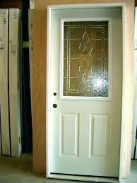 front door glass panels replacement doors with panel cost