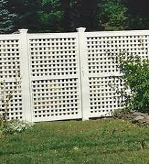 vinyl lattice fence panels. Semi Private Fence; Garden Lattice Top Fencing Vinyl Fence Panels