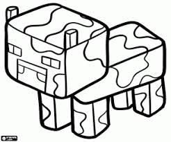 Small Picture Minecraft coloring pages printable games