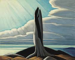 the old stump lake superior an oil on board sketch that fetched 3 5 million at auction courtesy the estate of lawren s harris