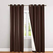 brown curtains for bedroom.  Brown Jinchan Blackout Thermal Curtains 84 Inch Lined Energy Efficient For  Bedroom Window Curtain Living Room And Brown For G