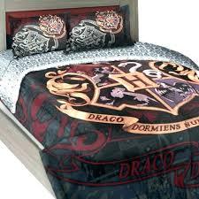 harry potter bedding bed set twin full comforter house motto mono single