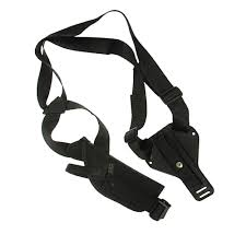 Uncle Mikes Sidekick Vertical Shoulder Holster Cordura Black Size 15 Right Hand