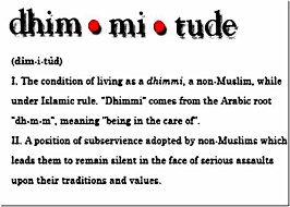 muhammad ali jinnah the neoconservative christian right dhimmitude 2 definitions