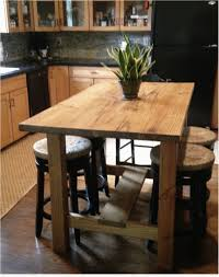 Diy Kitchen Island Dining Table Counter Height Kitchen Island