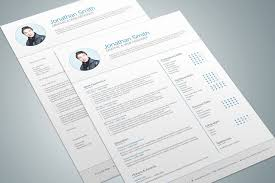 Adobe Indesign Resume Template Best Of Modern Resume Template 03 By