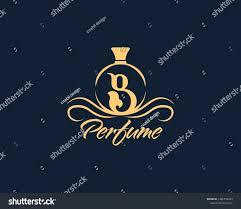 Luxury B B Lake District Grand Designs Luxury Initial Alphabet Letter B Perfume Stock Vector