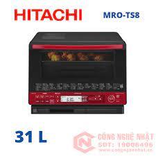 Lò vi sóng 3D kèm nướng có bù ẩm Hitachi MRO-TS8 31L màu đỏ nội
