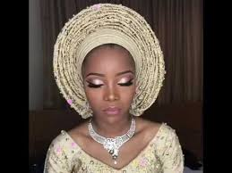 nigerian traditional enement makeup by oshewa