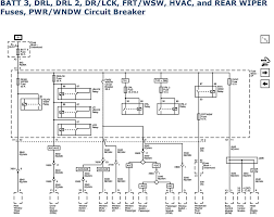 1999 chevrolet truck silverado 1500 4wd 4 3l fi ohv 6cyl repair batt 3 drl drl 2 dr lck frt wsw hvac and rear wiper fuses pwr wndw circuit breaker 2007