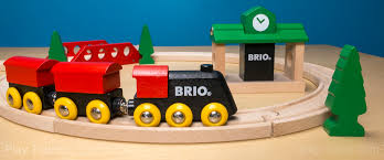 brio clic figure 8 set the play trains guide to wooden train sets