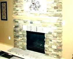 refacing fireplace with stone reface brick cost refacing fireplace with stone resurface brick veneer mkeover ides