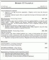 Professional College Resume