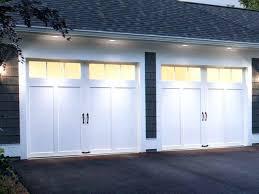 outside garage door lights the winning doors minus the black hardware coachman residential garage doors notice outside garage door lights