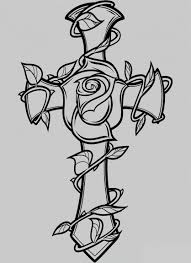 Crown Coloring Sheet Free Printable Cross Coloring Pages For Kids