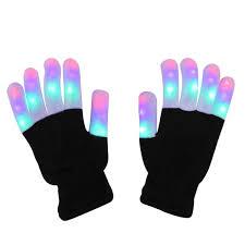 Light Gloves Led Light Up Gloves Finger Light Gloves For Kids Adults Glow Rave Edm Gloves Funny Novelty Gifts