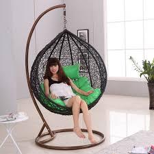 hanging swing chair for bedroom. incredible perfect hanging chairs for bedrooms with contemporary brown egg swing chair bedroom r