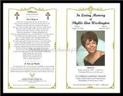 Free Memorial Service Program 24 Images Of Free Online Funeral Program Template Leseriail 5