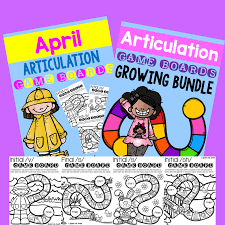 April Articulation MEGA Giveaway! | Speech-Language Therapy Blog ...