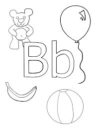 Letter B Coloring Pages At Page - glum.me