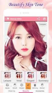 beauty makeup photo makeover apk screenshot