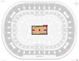 Qualcomm Interactive Seating Chart 38 Actual Bulls Seats View