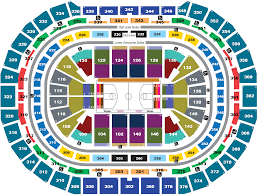 Pepsi Center Seating Chart Nuggets Seating Charts Pepsi Center