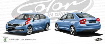 Skoda Fabia Colour Chart Skoda Touch Up Paint Find Touch Up Color For Skoda Color